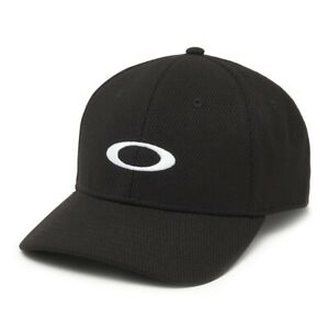 Oakley Mens Ellipse All Year Round Black with white logos front/back UV treated