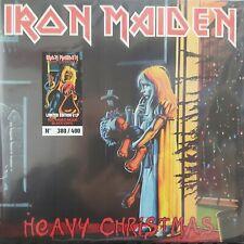 IRON MAIDEN - HEAVY CHRISTMAS - LIM.ED RED MIXED MODE BLACK VINYL 2LP 364/400