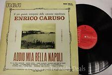 """Enrico Caruso - Addio Mia Bella Napoli LP 12"""" (VG)"""