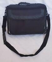 Black Targus Classic Clamshell Premium Protective Laptop Bag with Handles