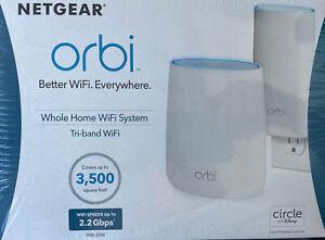 NETGEAR Orbi AC2200 Tri-Band Wi-Fi System - RBK20W Brand NEW In The Sealed Box