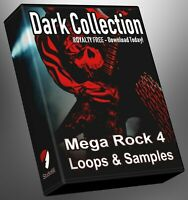 Rock Dark Collection Part 4 Loops Ableton Logic FL Studio Cubase Reason Presonus