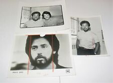 Billy Joel 3 Original Candid Promo Press Photo Columbia Records Pop Rock