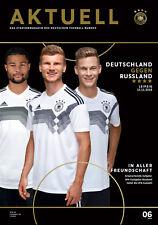 Länderspiel 15.11.2018 Deutschland - Russland in Leipzig