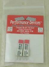 40Mhz Futaba Single Conversion TX/RX Crystal Set UK CH98 / Euro CH92 40.985Mhz