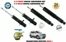 FOR SSANGYONG REXTON 2002-2006 2X FRONT + 2X REAR LEFT RIGHT SHOCK ABSORBER SET