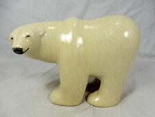 Großer Lisa Larson Design Gustavsberg Polarbär large polar bear figurine Sweden