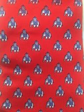 NWT Thomas Pink Indian Elephant Red Silk Necktie  SS12