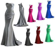 Sirène robe de mariée,demoiselle d'honneur,robe de bal,tenue de soirée 34-44