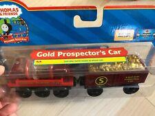 Thomas & Friends Wooden Railway Gold Prospector's Car NEW