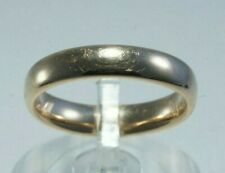 14K Yellow Gold 'EternaGold' Polished Wedding Band/Ring, Size 8, Silk Fit Design