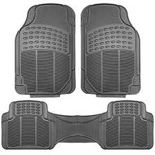 Floor Mats Grey Rubber Carpets All Weather Liner For Hyundai Accent RB 2011-2018