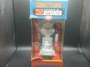 Vintage 1969 Zintar Of The Mighty Zeroids Space Toy Robot NOS w/ Box