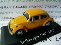 RBA30G voiture 1/43 RBA IXO : VOLKSWAGEN 1300 1970 cox beetle käfer