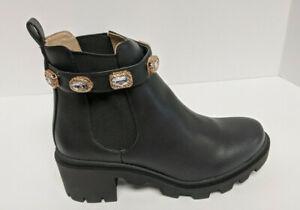Steve Madden Amulet Chelsea Boots, Black, Women's 9 M