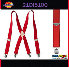 Dickies Men's Nylon X-Shaped Heavy Duty Industrial Thick Suspenders 21DI5100