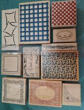 CRAFTROOM CLEAROUT  NEW LARGE STAMPS  FRAME / THEMED