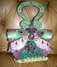 *MINT* VINTAGE MARY FRANCES PURSE  / GREAT COLORING**