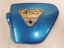 Honda CB 450 K3 Seitendeckel links mit Emblem  Side Cover left Side incl. Emblem