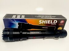 Cheetah Stun Gun Flash Light High Powered 10 million Volts, All Metal- Black