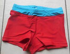 NABAIJI maillot de bain piscine 12 ans rouge et vert