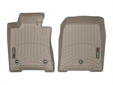 WeatherTech FloorLiner Floor Mats for Acura TL FWD - 2009-2014 - 1st Row - Tan