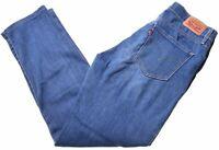 LEVI'S Womens 312 Jeans W26 L28 Blue Cotton Slim  H105