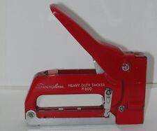 Vintage Swingline Staple Gun - Tacker - Model 800 - Red - Heavy Duty Stapler