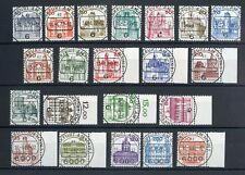 Berlín castillos & cerraduras 1977/1982 21 valores est Frankfurt (114593)