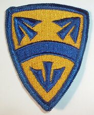 AMERICAN PATCHES-1970/1980 U.S ARMY 15th SUPPORT BRIGADE BRIGADE FULL COLOUR