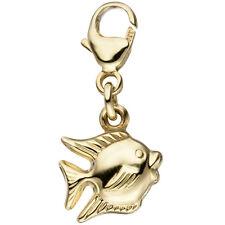 Einhänger Charm Fisch 333 Gold Gelbgold Anhänger GoldCharm 46337