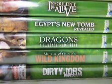 Best of Discovery Channel Volume 3 DVD Lot Set of 5 Videos in Box