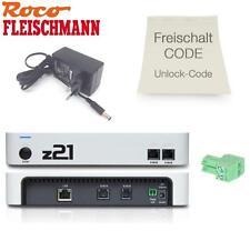 Roco/Fleischmann 10825 Z21 START + Roco 10818 Z21 Unlock-Code - NEW