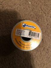 "Johnson 1lb 50/50 Soldering Wire 1/8"" diameter"