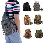 Molle Tactical Sling Chest Bag Assault Pack Messenger Shoulder Bag Backpack