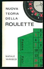 VARISCO NATALE NUOVA TEORIA DELLA ROULETTE LA MODERNA 1973 CASINO AZZARDO