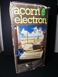 Acorn Electron computer Boxed Console With Games
