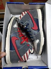 low priced 02eb4 19d4d Nike Sb Dunk high Bruce Springsteen Grail born in the USA rare NDS sz 10
