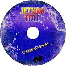 JETHRO TULL BASS & GUITAR TAB CD TABLATURE GREATEST HITS BEST OF ROCK MUSIC POP