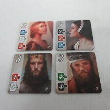 Splendor 2015 Noble Promo Tiles Set of 4 Two Male Two Female