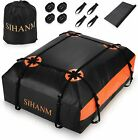 Roof top Bag Cargo Carrier Waterproof 20 Cubic for All Cars with/Without Rack US