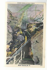 Chinese Pagoda in Titan's Temple   Howe Caverns  NY  Unused  Postcard 764