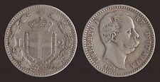 2 LIRE 1881 ARGENTO/SILVER - UMBERTO I
