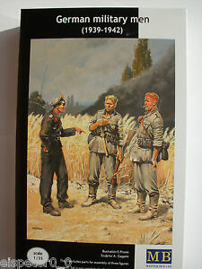 WWII Allemand Soldats (1939-1942) Master Box Figurines 1:3 5, Art.n ° MB3510