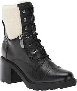 Marc Fisher Lansly Black 3.5, Black Leather