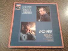 33 tours ludwig van beethoven concerto l'empereur weissenberg karajan orchestre