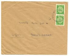 ISRAEL 1949  5 M.PAIR   - PM P.O. = PARDES HANNA = F/VF