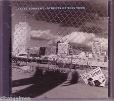 STEVE FORBERT Streets of This Town 1988 Geffen 1st Press CD 80s Pop Songwriter