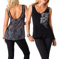 Metal Mulisha Ladies Trish Tank Size S