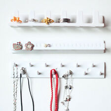 New Jewelry Display Hanging Earring Necklace Ring Hanger Holder Sticky Hooks Set